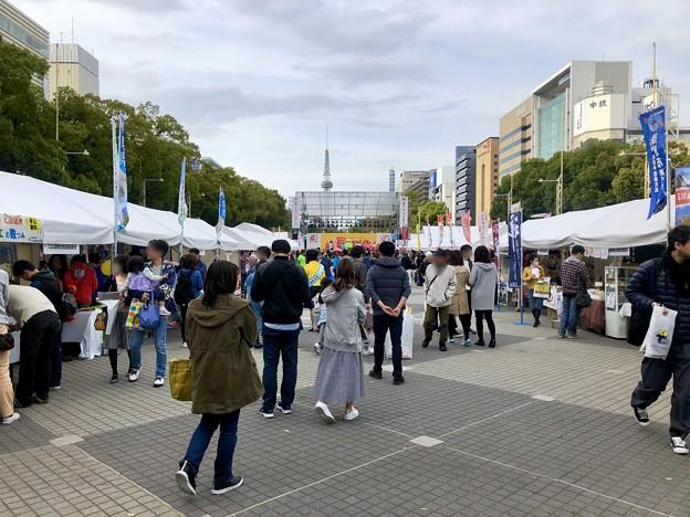 旅まつり名古屋 2018 No - 19:大勢の人で賑わう会場