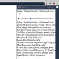 写真: Vivaldi WEBパネル:HTML5のメディアプレヤーを表示! - 9(スキップボタンがファイル名の下に!)