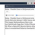 写真: Vivaldi WEBパネル:HTML5のメディアプレヤーを表示! - 10(スキップボタンがファイル名の下に!)