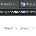 写真: Opera 52:複数タブの選択・操作が可能に! - 1