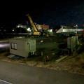 桃花台線の桃花台中央公園南側撤去工事(2018年3月22日):再びクレーン車が - 4