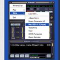 写真: Vivaldi WEBパネルに「Winamp2-js」- 2:メニュー