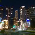名古屋駅の北東側から見た夜の名駅ビル群 - 9