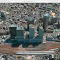 macOS High Sierraのマップアプリ:地図更新で名駅ビル群が実際と同じ数に! - 3