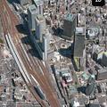 iOS 11 マップアプリ:地図更新で名駅ビル群が実際と同じ数に!
