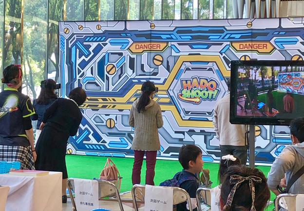 松坂屋名古屋店1階で行われていたARゲーム「HADO SHOOT(ハドーシュート)」の無料体験会 - 2
