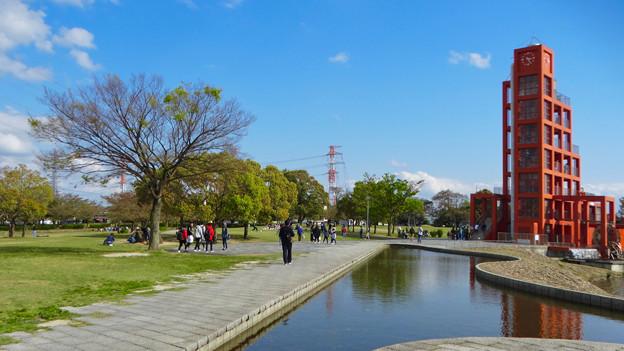 春日井名物グルメ王座決定戦開催もあってか、普段より混んでた日曜の落合公園 - 3