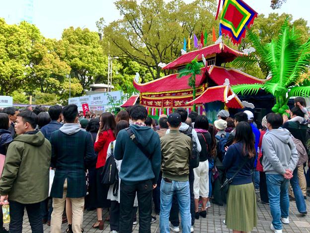 ベトナムフェスティバル ホーチミン in 愛知名古屋 2018 No - 51:水上人形劇の舞台