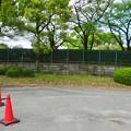 写真: お土産屋 兼 物見櫓を建てたら良いのではと思った名古屋城東門横の場所 - 2