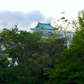 写真: 愛知県体育館2階から見た名古屋城天守閣 - 2