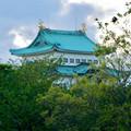 写真: 愛知県体育館2階から見た名古屋城天守閣 - 3