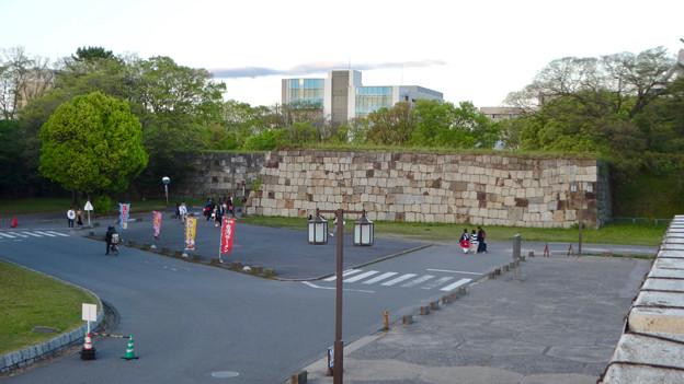 物見櫓にしたら良いのではと思った名古屋城東門前の石垣 - 1