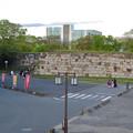 写真: 物見櫓にしたら良いのではと思った名古屋城東門前の石垣 - 1