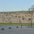 写真: 物見櫓にしたら良いのではと思った名古屋城東門前の石垣 - 3