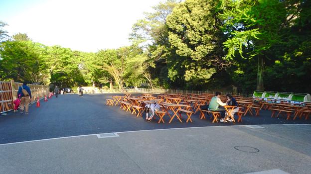 金シャチ横丁「義直ゾーン」 - 13:近日オープン予定のビアガーデン「金シャチ海鮮市場」予定地?