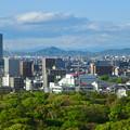 名古屋城天守閣から見た景色 - 2:ザ・シーン城北とスカイステージ33