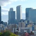 名古屋城天守閣から見た名駅ビル群 - 3