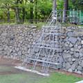 補修工事中の名古屋城のお堀 - 2