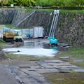 補修工事中の名古屋城のお堀 - 3