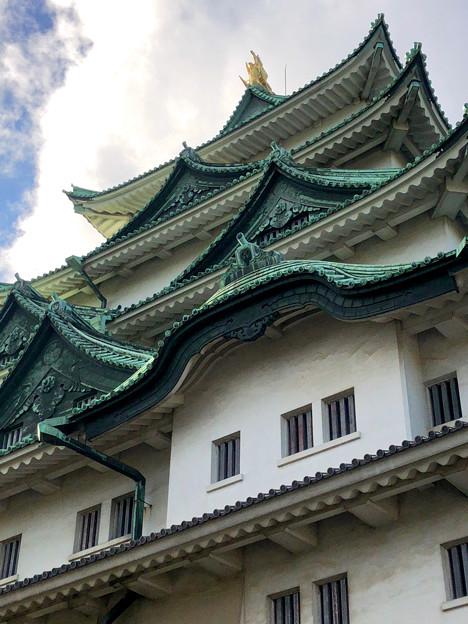 名古屋城(2018年4月)No - 19:真下から見上げた天守閣