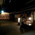 名古屋城(2018年4月)No - 22:江戸時代頃の城下町を再現(?)したスペース(夜を再現)