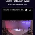 写真: Operaのオンラインイベント「R2」(2018年4月) - 1:公式HPでライブストリーミング
