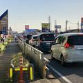 写真: アルペンアウトドアーズ春日井店へと向かう車の渋滞(国道19号) - 1
