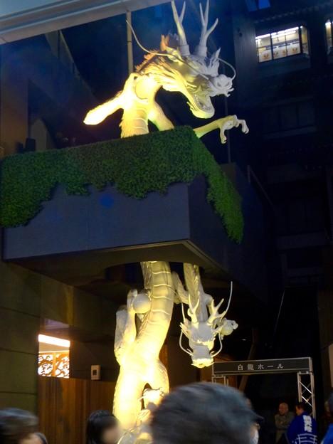 大須万松寺:龍の像に様々なエフェクト!? - 2