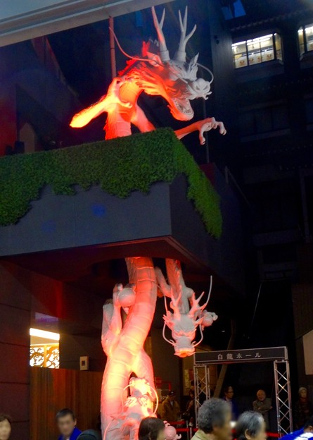 大須万松寺:龍の像に様々なエフェクト!? - 6