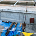 写真: 桃花台線の旧車両基地進入高架撤去工事(2018年5月10日) - 9