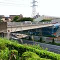 写真: 桃花台線の旧車両基地進入高架撤去工事(2018年5月10日) - 12