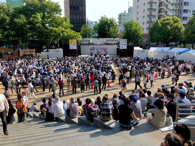 栄ミナミ音楽祭 2018 No - 32:沢山の人がいた矢場公園会場