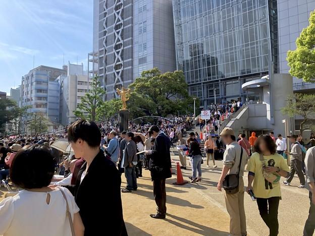 栄ミナミ音楽祭 2018 No - 33沢山の人がいた矢場公園会場