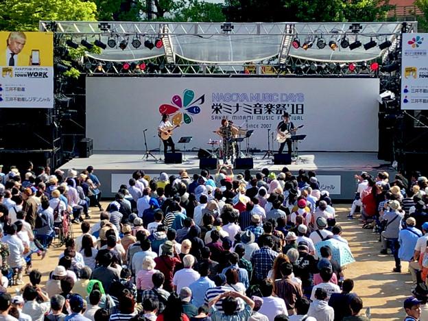 栄ミナミ音楽祭 2018 No - 34:田村直美さんのライブパフォーマンス(矢場公園)