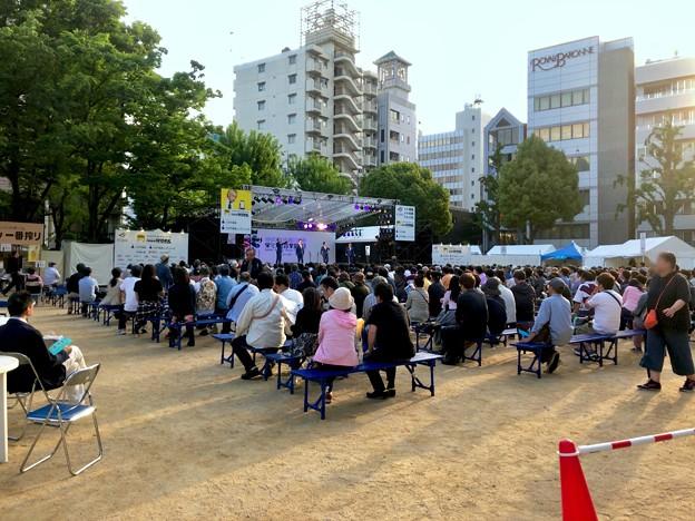栄ミナミ音楽祭 2018 No - 46:沢山の人たちがいた矢場公園会場