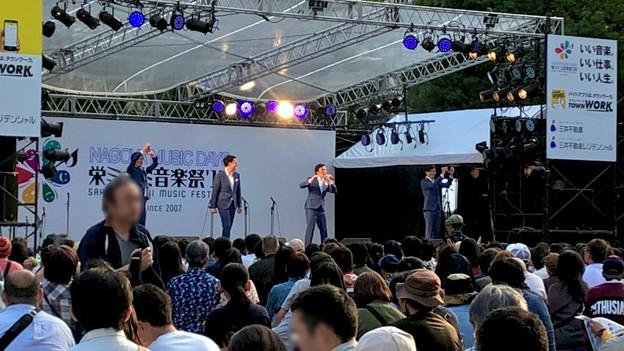 栄ミナミ音楽祭 2018 No - 47:沢山の人たちがいた矢場公園会場