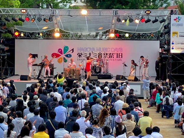 栄ミナミ音楽祭 2018 No - 49:Noraさん(オルケスタ・デ・ラ・ルス)のライブパフォーマンス