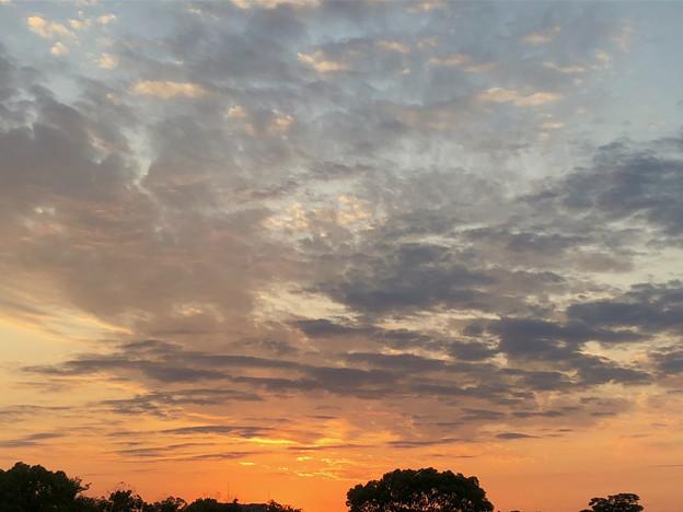 落合公園から見た夕焼け - 2