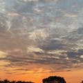 写真: 落合公園から見た夕焼け - 2