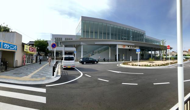 JR春日井駅南口のパノラマ(2018年5月26日) - 2