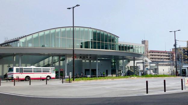 整備が完全に終わっていたJR春日井駅北口(2018年5月26日) - 15:ロータリー中央部はバス待機場に