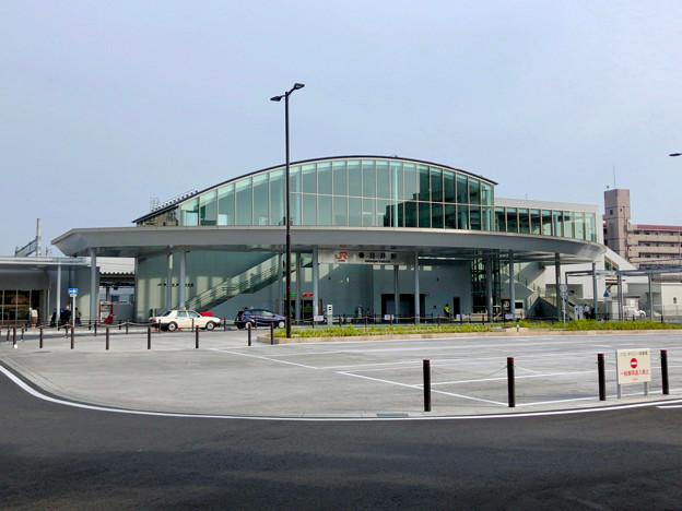 整備が完全に終わっていたJR春日井駅北口(2018年5月26日) - 17:ロータリー中央部はバス待機場に