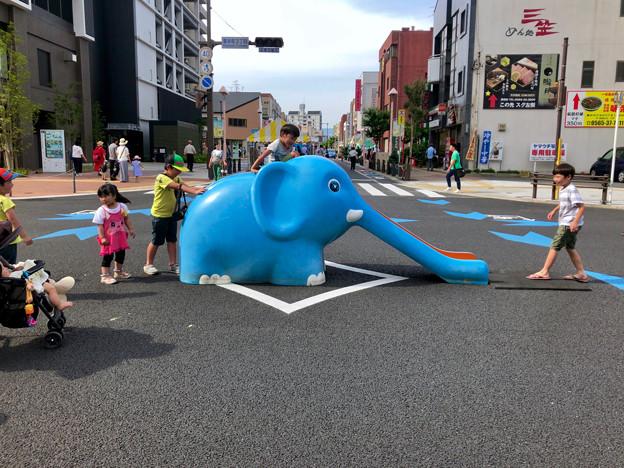 豊田ふれ愛フェスタ 2018 No - 23:大きな象の滑り台