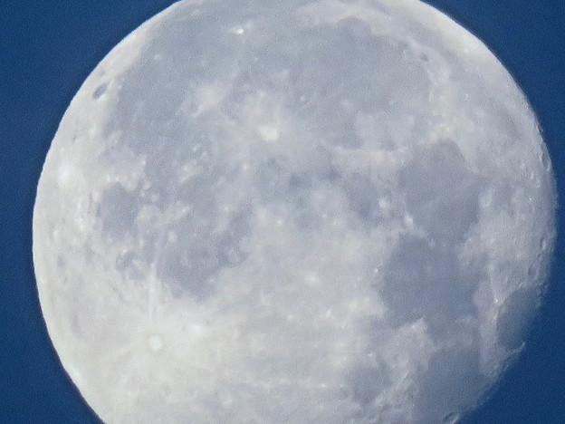 WX3000よりくっきり見えた、SX730 HSデジタル160倍で撮影した早朝の満月 - 6