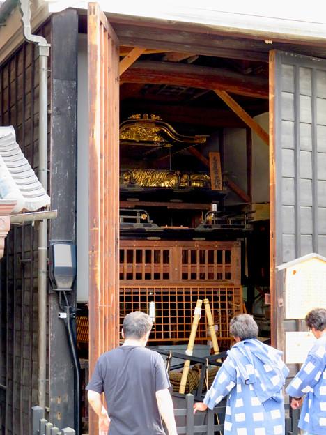 有松絞りまつり 2018 No - 217:解体終了し蔵に収納された山車