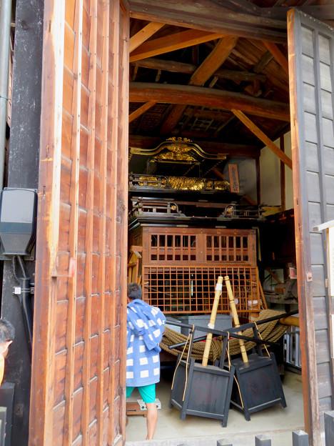 有松絞りまつり 2018 No - 218:解体終了し蔵に収納された山車