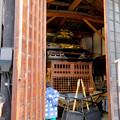 写真: 有松絞りまつり 2018 No - 218:解体終了し蔵に収納された山車