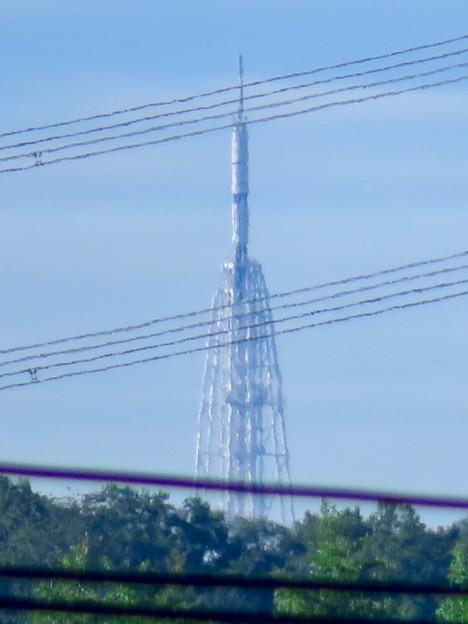桃花台から見た瀬戸デジタルタワー - 2