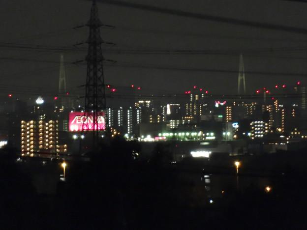 桃花台から見た夜の名港中央大橋(名港トリトン) - 1