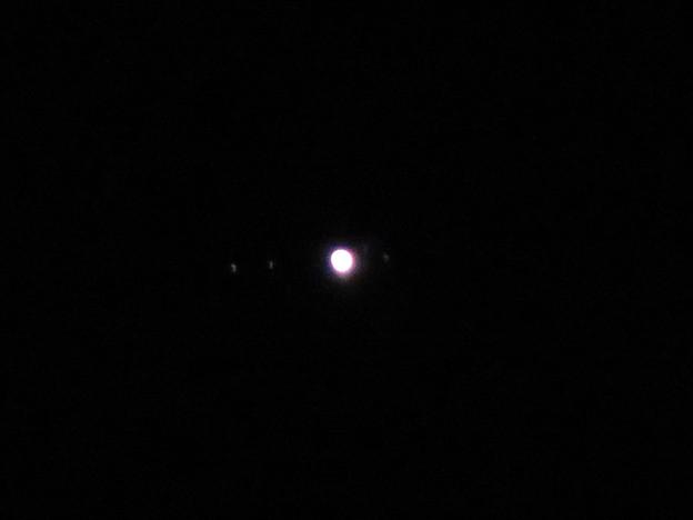 SX730 HSで撮影した木星とガリレオ衛星 - 1